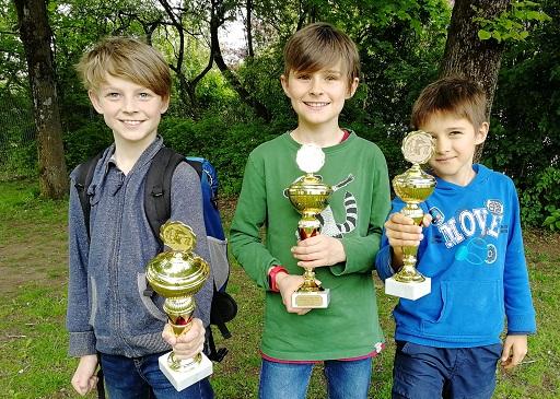 Die Vincent-Schüler Roman, Aaron und Georg