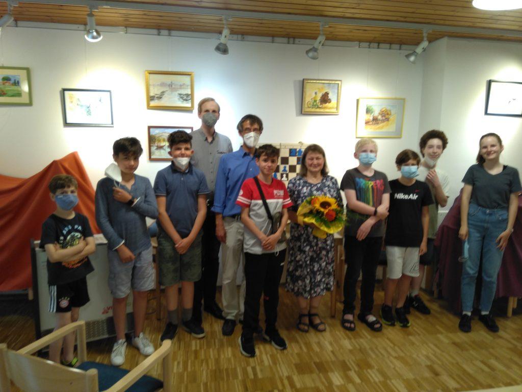 Abschiedsfeier Irina Kammermeier - Gruppenfoto